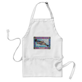 Water Skier Adult Apron