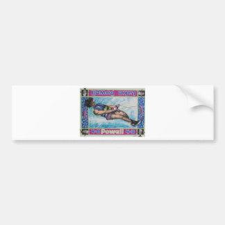 Water Skier Bumper Sticker