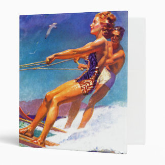 Water Skier by McClelland Barclay Binder