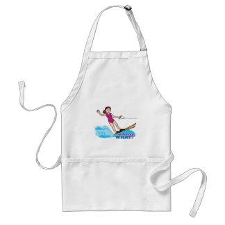 Water-Skier-Girl 1 Standard Apron