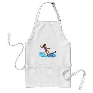 Water-Skier-Girl 3 Standard Apron