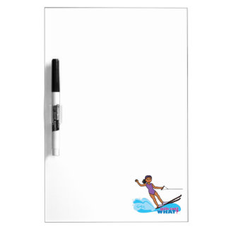 Water-Skier-Girl 3 Dry-Erase Board