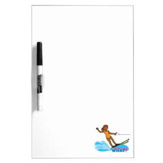Water-Skier-Girl 4 Dry-Erase Board