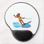 Water-Skier-Girl 4 Gel Mouse Pad