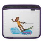 Water-Skier-Girl 4 iPad Sleeve