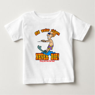 Water Skiers Baby T-Shirt
