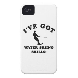 Water Skiing designs and gift items iPhone 4 Case-Mate Cases