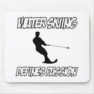 WATER SKIING designs Mouse Pad