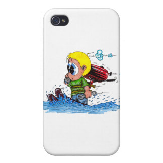 water skiing iPhone 4 cover