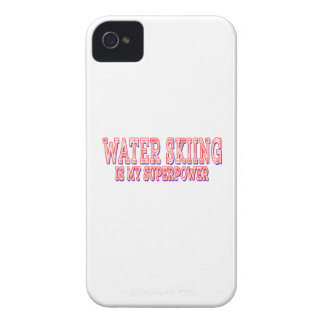 Water Skiing is my superpower Case-Mate iPhone 4 Cases