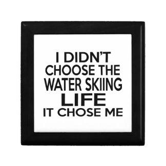 WATER SKIING LIFE DESIGNS JEWELRY BOX