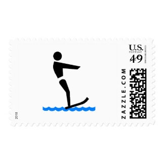 Water Skiing Postage