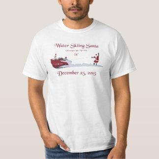 Water Skiing Santa Claus - Chautauqua Lake T-Shirt