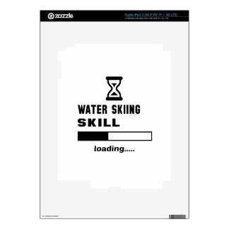 Water Skiing skill Loading...... Decals For iPad 3