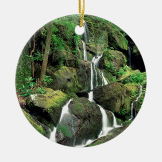 Water Smoky Mountains Tennessee Stream Ceramic Ornament