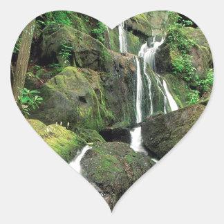 Water Smoky Mountains Tennessee Stream Heart Sticker