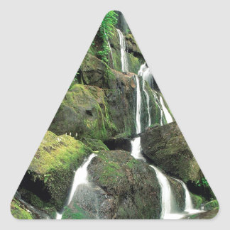 Water Smoky Mountains Tennessee Stream Triangle Sticker