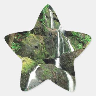 Water Smoky Mountains Tennessee Stream Star Sticker