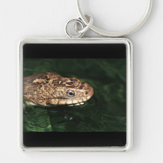 Water snake with reflection keychain