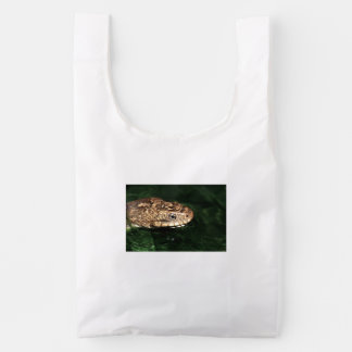 Water snake with reflection reusable bag