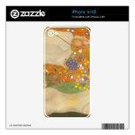 Water snakes (friends) II by Gustav Klimt Skin For iPhone 4S