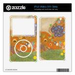 Water snakes (friends) II by Gustav Klimt iPod Video 5G Skin