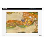 """Water snakes (friends) II by Gustav Klimt Skin For 15"""" Laptop"""