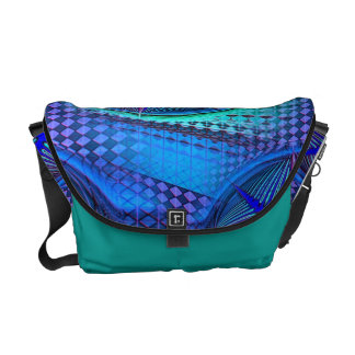 Water Space Retro Messenger Bag