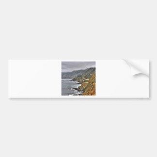 Water Spanish Coast Roadside Car Bumper Sticker