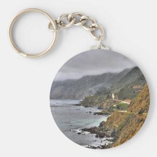 Water Spanish Coast Roadside Key Chains
