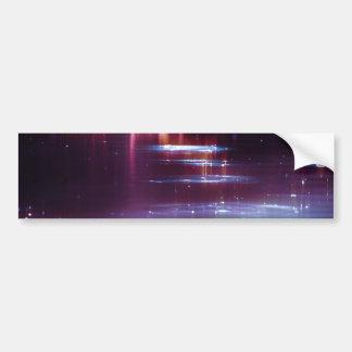 water_sparkle-wide car bumper sticker