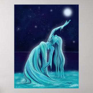 Water Spirit - Custom Sized Poster