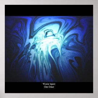 Water Spirit, Designs By Che Dean Poster