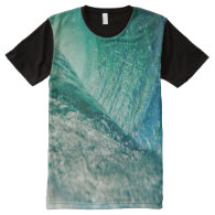 Water Splash All Over Printed T-Shirt All-Over Print T-shirt