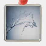 Water Splash Christmas Tree Ornament