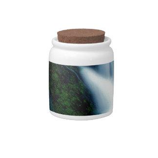 Water Splash Falls Candy Jar