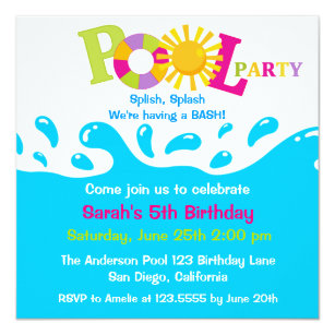 Adult Swim Invitations Announcements Zazzle