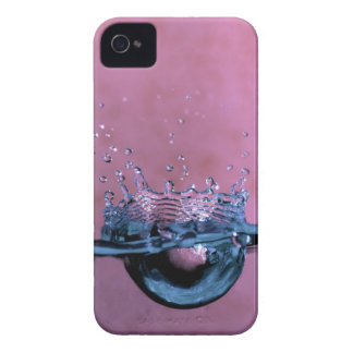 Water Splash in Pink iPhone 4 Case-Mate ID