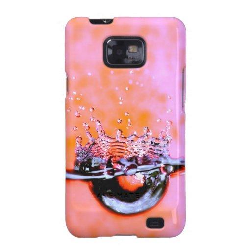 Water Splash Samsung Galaxy S Case Galaxy SII Cases