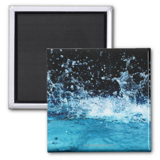 Water splashing in pool magnet