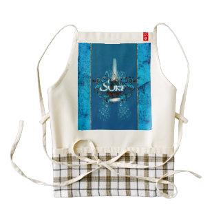 Water sport zazzle HEART apron