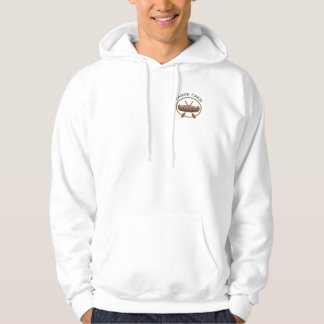 Water Sports Canoeing Canoe Crew Logo Hooded Sweatshirt