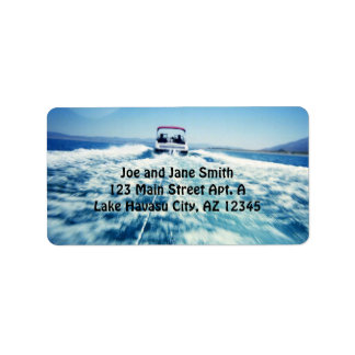 Water Sports Label