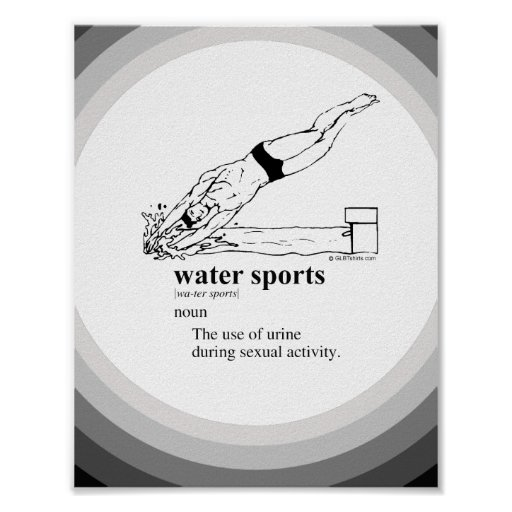 WATER SPORTS POSTER