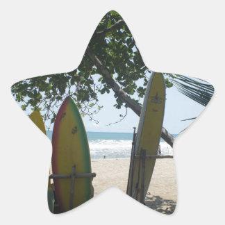 water sports star sticker