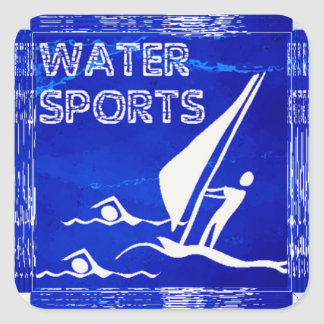 WATER SPORTS Stickers