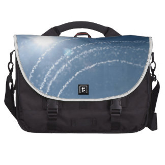 Water Sprinkler in the sky Laptop Messenger Bag