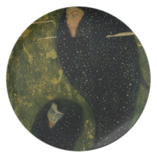 Water Sprites, 1899 (oil on canvas) Dinner Plate