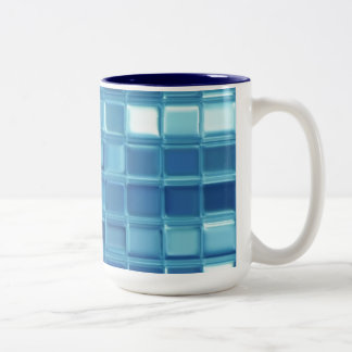 Water Squared customizable tile mosaic mug