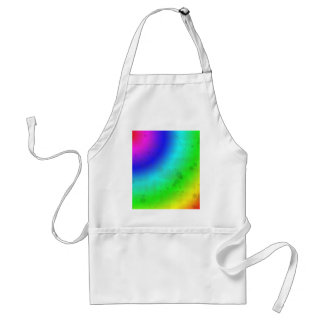 Water Stained Rainbow Adult Apron